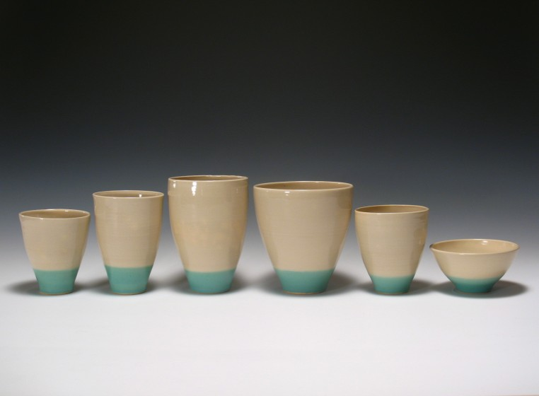 Set of Vases and Cups