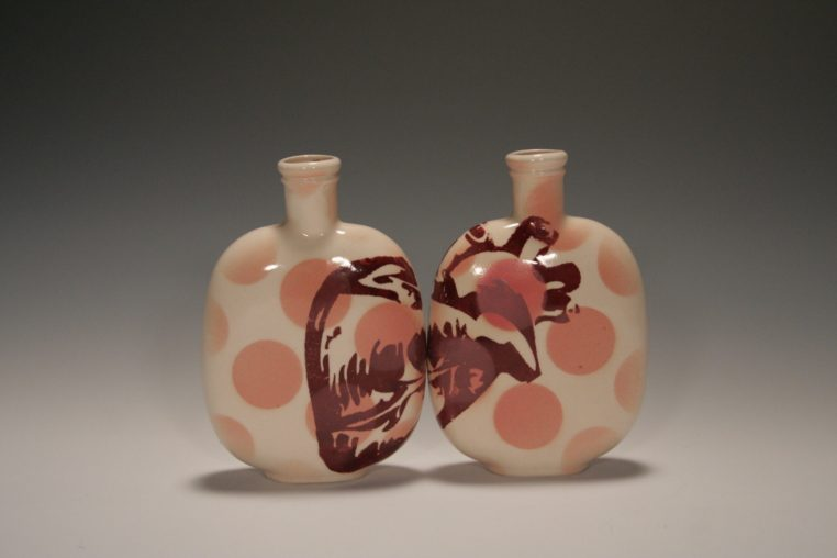 Heart-Bird Flask(heart)